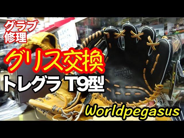 「グリス交換」トレーニンググラブ Worldpegasus T9型【#2705】