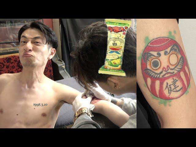 うまい棒買うノリで『タトゥー彫ったら』人間の感情はどうなるの?【バカ企画】