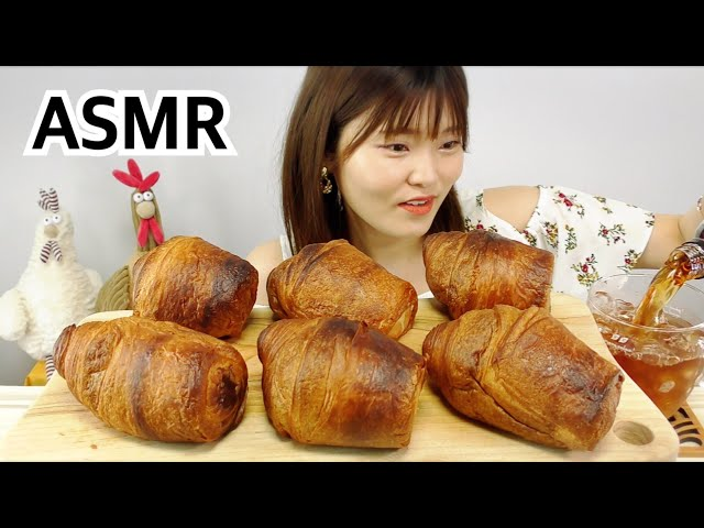 【ASMR】とろけるクリームたっぷりクロフィン食べるだけ。(BGM,喋り抜き版)