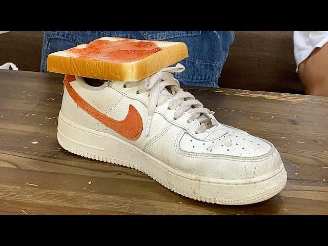 「ジャムを塗った食パン」と「スニーカー」を組み合わせると...?