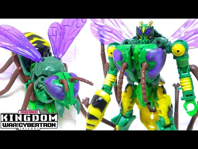 【リアルなハチからロボットに変形!】WFC-K34ワスピネーター/ワスピーター(デラックスクラス)【トランスフォーマーキングダム】