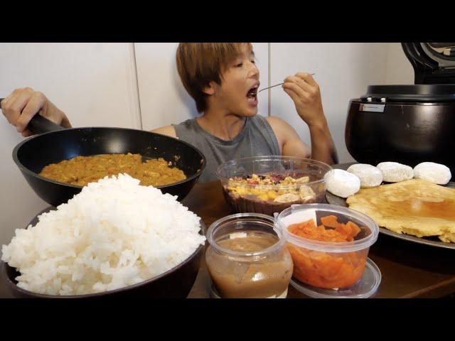 【ストレス食い】1ヶ月我慢したお米と大福カレーを腹ちぎれる程食べてしまった。悔いはなし