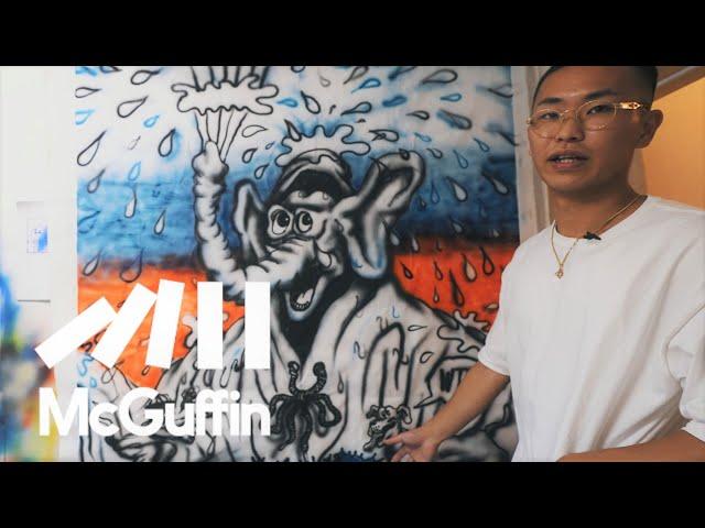 【エアブラシ/マーカー/iPad…様々な表現技法と鮮やかな色彩】でストリートを切り取る気鋭のアーティスト YOUNG GENERATION -RYOTA DAIMON- by CANADA GOOSE
