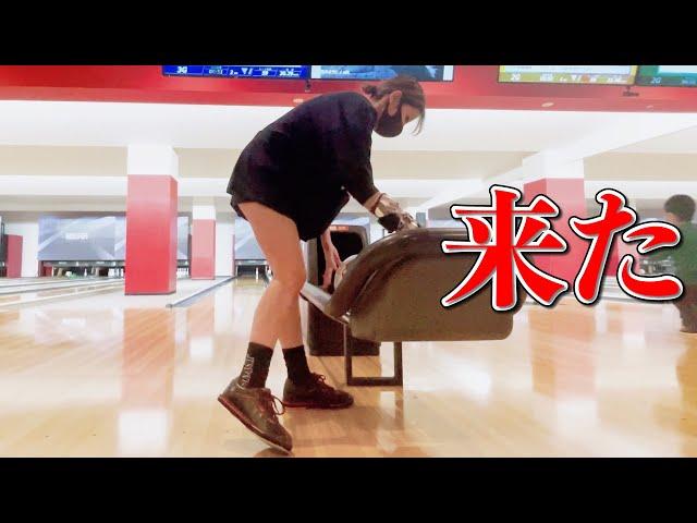 来た-Video of a baseball girl becoming a bowling girl and practicing without hesitation