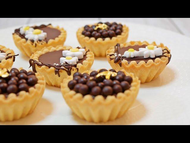 簡単 生チョコタルトの作り方【プレゼントラッピング】 How to make Chocolate Ganache Tart Recipe