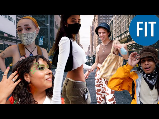 what do FASHION STUDENTS  in NYC wear to school?  at world's best fashion shool
